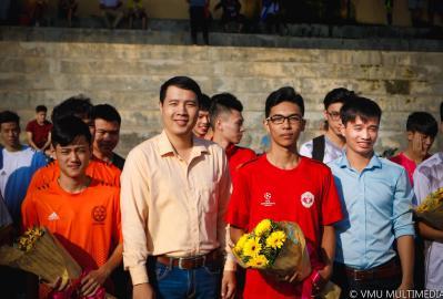 Khai mạc giải bóng đá IT CUP 2017